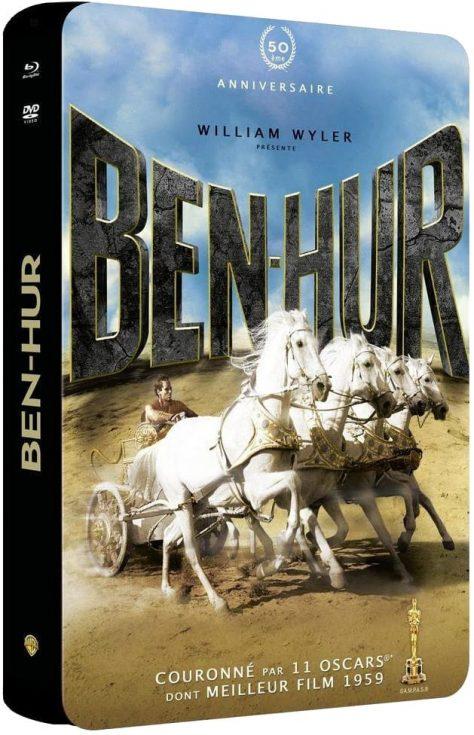Ben-Hur (1959) - Ultimate Edition 50ème anniversaire (Master 6K) - Packshot Blu-ray