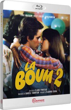 La Boum 2 (Claude Pinoteau / Sophie Marceau) - Packshot Blu-ray Gaumont Découverte