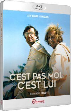 C'est pas moi, c'est lui (Pierre Richard) - Packshot Blu-ray Gaumont Découverte