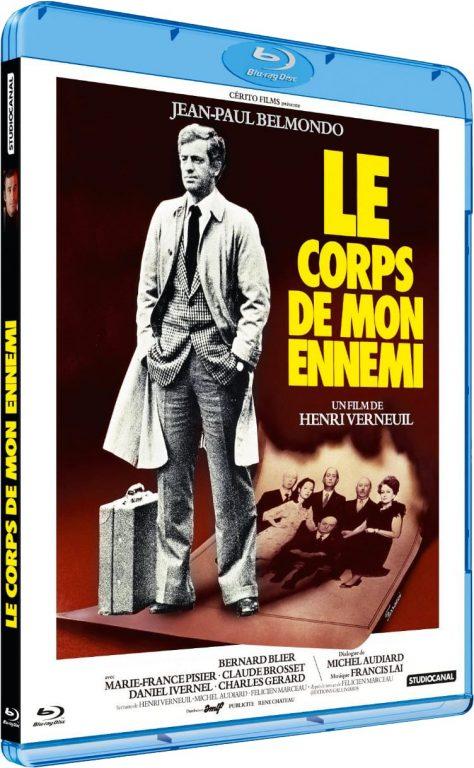 Le Corps de mon ennemi - Packshot Blu-ray