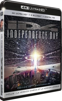 Independence Day - Édition 20e anniversaire - Packshot Blu-ray 4K Ultra HD