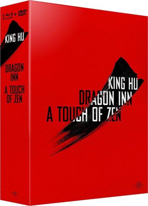 King Hu : A Touch of Zen / Dragon Inn - Packshot Blu-ray