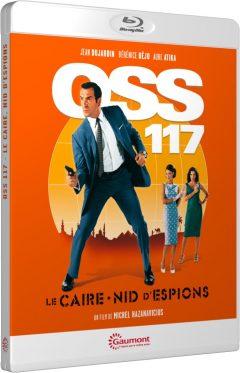 OSS 117 - Le Caire, nid d'espions - Packshot Blu-ray Gaumont Découverte