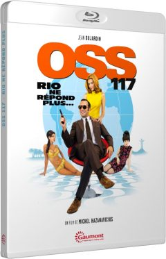 OSS 117 - Rio ne répond plus - Packshot Blu-ray Gaumont Découverte