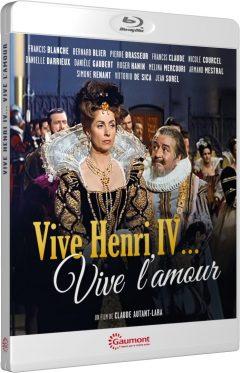 Vive Henri IV... Vive l'amour ! - Packshot Blu-ray Gaumont Découverte