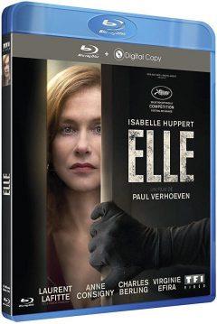 Elle (2016) de Paul Verhoeven - Packshot Blu-ray