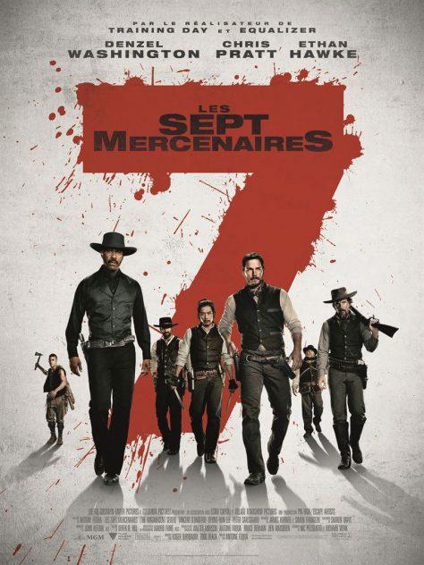 Les 7 Mercenaires 2016 - Affiche