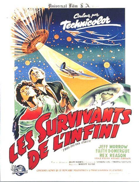 Les Survivants de l'infini - Affiche FR