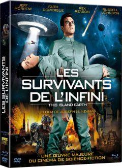 Les Survivants de l'infini - Jaquette BRD 3D