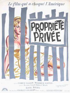 Propriété privée - Affiche 1960
