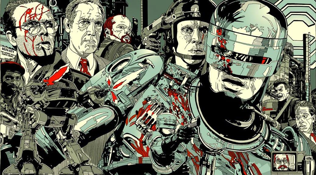 Robocop (1987) de Paul Verhoeven -Stout Poster