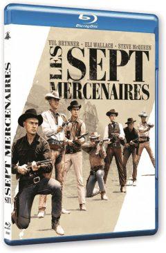 Les Sept Mercenaires (1960) de John Sturges - Packshot Blu-ray