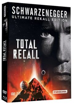 Total Recall (1990) de Paul Verhoeven - Ultimate Rekall Edition 2012 - Packshot Blu-ray
