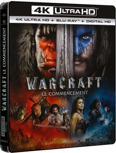 Warcraft: Le commencement - Packshot Blu-ray 4K Ultra HD