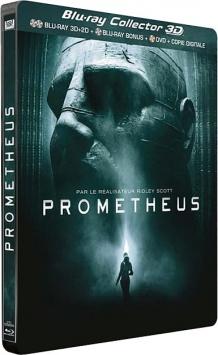 Prometheus (2012) de Ridley Scott – Packshot Blu-ray Collector 3D