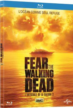Fear The Walking Dead - Saison 2 - Jaquette Blu-ray