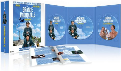 La Grande vadrouille - Édition Prestige 2016 - 50 ans (Master 4K) - Packshot Blu-ray (ouvert)