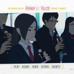 Hana et Alice mènent l'enquête - Menu Blu-ray