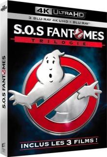 S.O.S. Fantômes Trilogie – Packshot Blu-ray 4K Ultra HD
