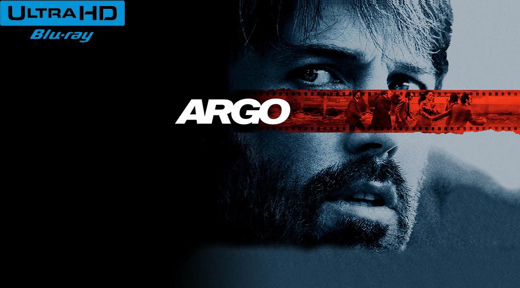 Argo (2012) de Ben Affleck - Blu-ray 4K Ultra HD