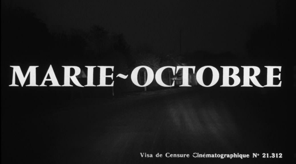 Marie-Octobre - Image une test BRD
