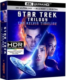 Star Trek : La Trilogie – Packshot Blu-ray 4K Ultra HD