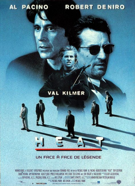 Heat (1995) de Michael Mann - Affiche France