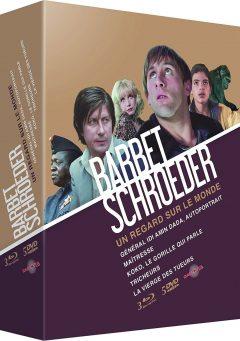 Coffret Barbet Schroeder - Packshot Blu-ray