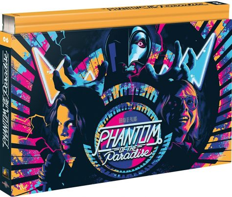 Phantom of the Paradise (1974) de Brian De Palma - Édition Coffret Ultra Collector Blu-ray + DVD + Livre