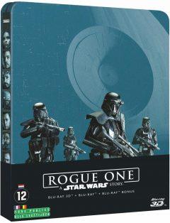 Rogue One : A Star Wars Story (2016) de Gareth Edwards - Packshot Blu-ray Steelbook