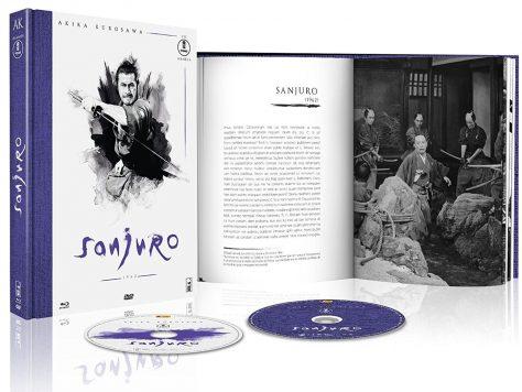 Sanjuro - Jaquette Blu-ray ouvert