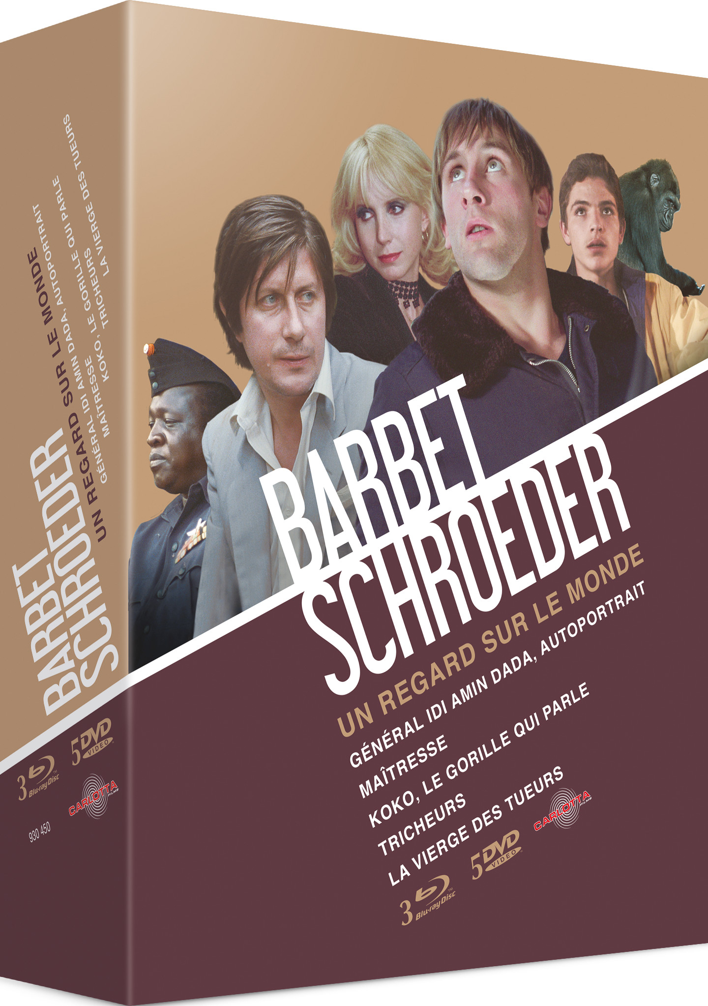 Coffret Barbet Schroeder - Carlotta