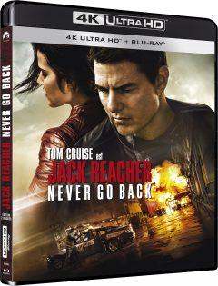 Jack Reacher: Never Go Back - Packshot Blu-ray 4K Ultra HD