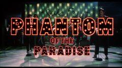 Phantom of the Paradise - Capture Blu-ray Opening