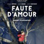 Faute d'amour - Affiche Cannes 2017