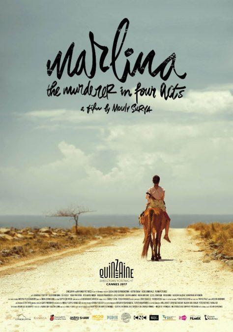 Marlina la tueuse en 4 actes - Affiche Cannes 20