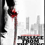 Message from the king - Affiche teaser