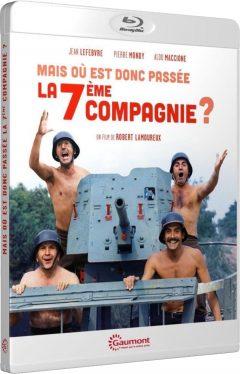 Mais où est donc passée la septième compagnie ? (1973) de Robert Lamoureux - Packshot Blu-ray Gaumont Découverte