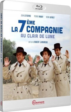 La Septième Compagnie au clair de lune (1977) de Robert Lamoureux - Packshot Blu-ray Gaumont Découverte