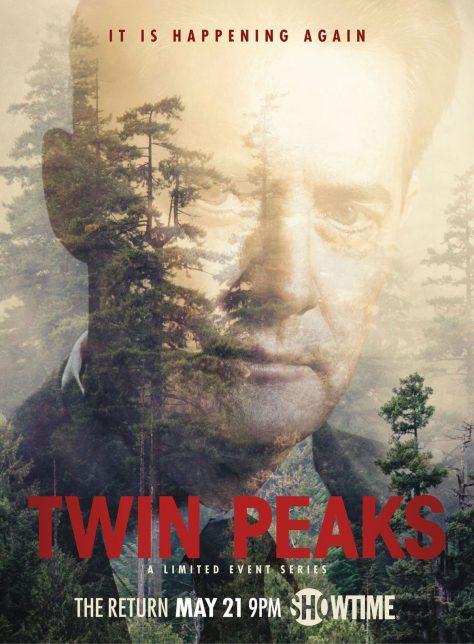 Twin Peaks 2017 - Affiche