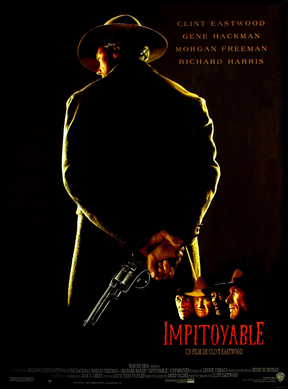 Impitoyable (1992) de Clint Eastwood - Affiche France