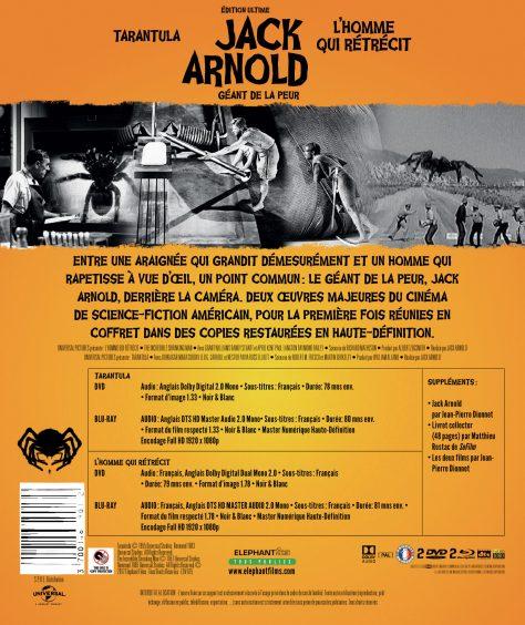 Coffret Jack Arnold - Verso 2D