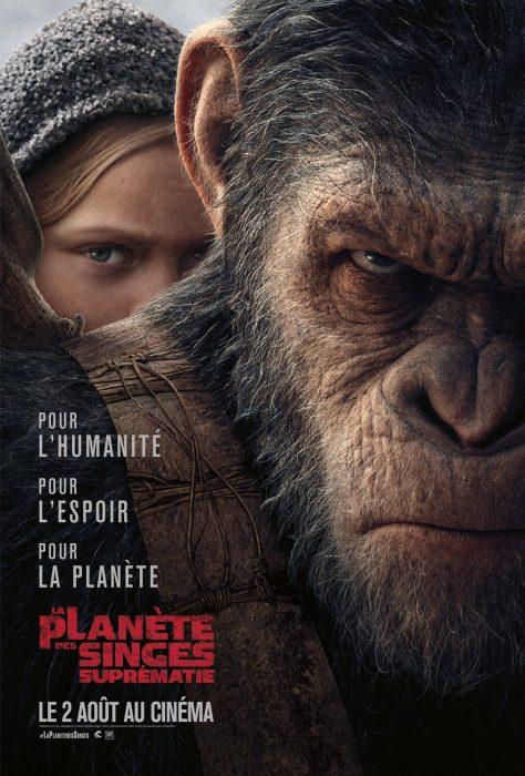 La Planète des singes : Suprématie - Affiche