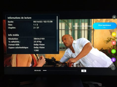 Fast & Furious 8 (2017) de F. Gary Gray - Blu-ray 4K Ultra HD - Dolby Vision