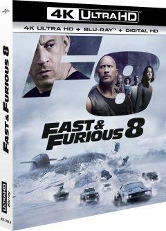 Fast & Furious 8 (2017) de F. Gary Gray - Packshot Blu-ray 4K Ultra HD