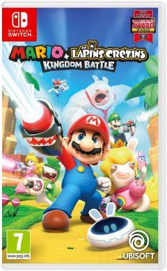Mario + The Lapins Crétins: Kingdom Battle - Nintendo Switch (Packshot)