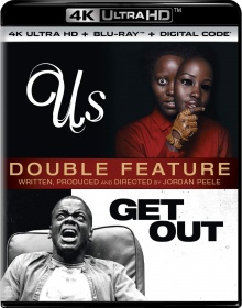 Us + Get Out – Packshot Blu-ray 4K Ultra HD