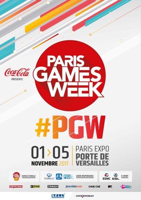 Paris Games Week 2017 - Affiche