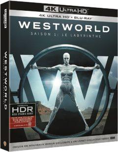 Westworld - Saison 1 (2016) - Packshot Blu-ray 4K Ultra HD