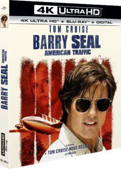 Barry Seal : American Traffic (2017) de Doug Liman - Packshot Blu-ray 4K Ultra HD